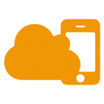 Icon cloud and mobile